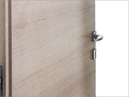 concealed flush door types