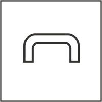U Section Bookcase Strip